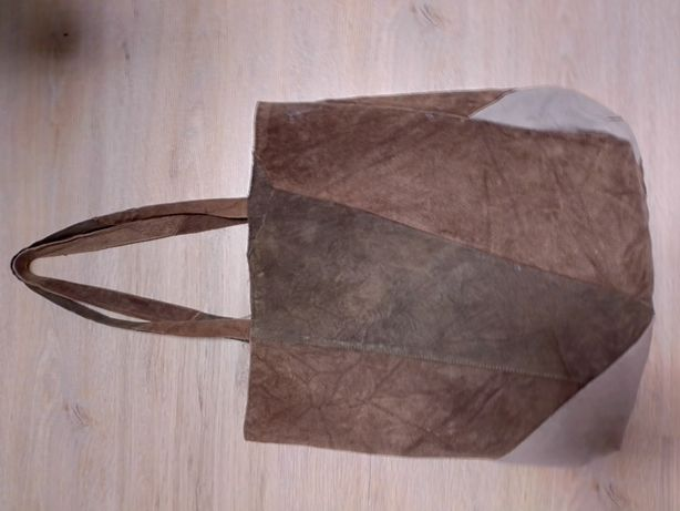 Замшевая сумка-шопер,джинсовые сумки,маленькая через плечо