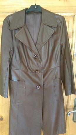 Płaszcz skórzany