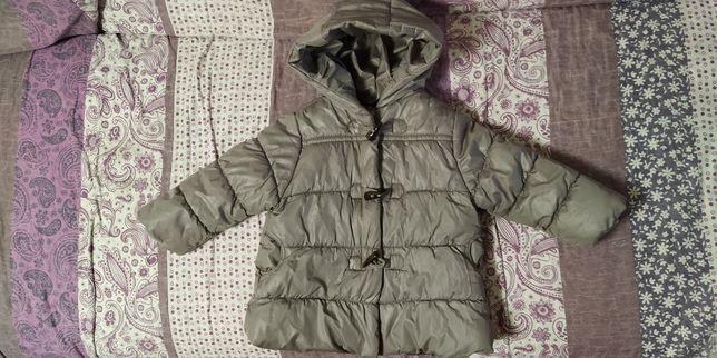 Демисезонная куртка на девочку,Zara