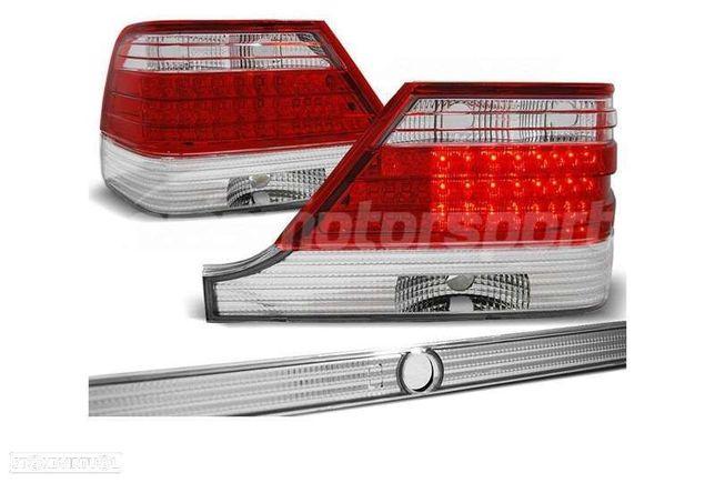 FAROLINS LED PARA MERCEDES CLASE S W140 1995-1998