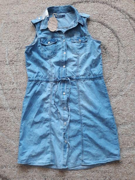 Nowa sukienka jeansowa M/L