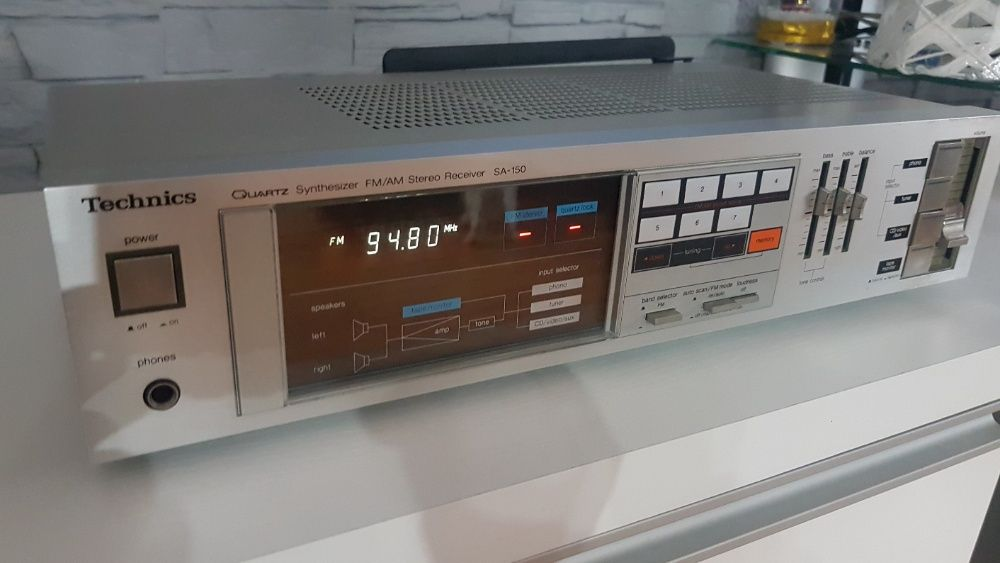 AMPLITUNER stereo Technics SA-150 Super stan. Nowa Sól - image 1