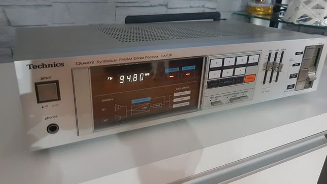 AMPLITUNER stereo Technics SA-150 Super stan.