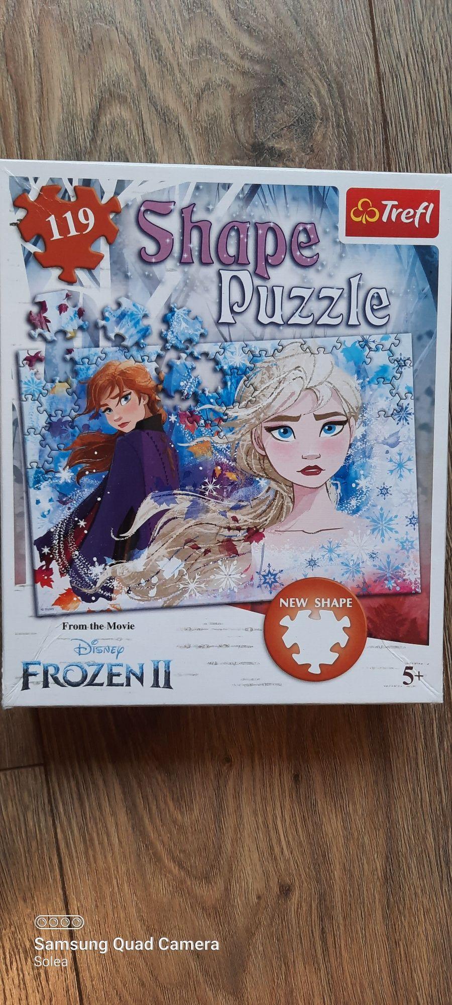 Puzzle shape Frozen II