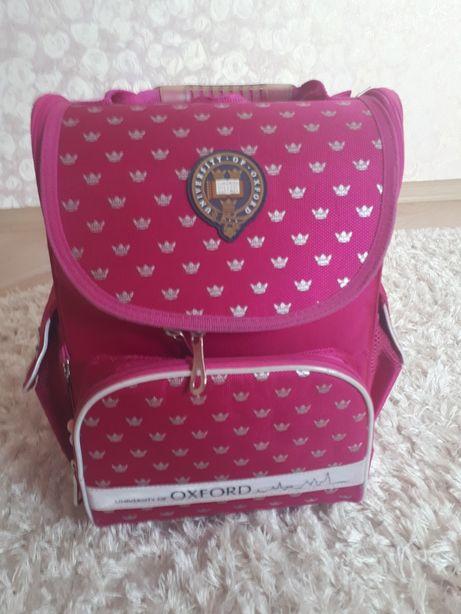 Школьний портфель рюкзак Оксфорд Oxford для девочки