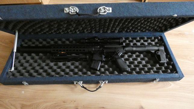 Case walizka na karabin wiatrówkę futerał na broń ASG