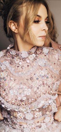 Piękna suknia ślubna projektu Sylwii Kopczyńskiej model Dolce XS/S