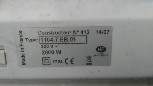 Новый электро обогреватель конвектор APPLIMO пр-во Франция