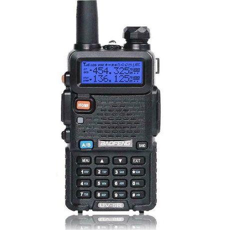 Radio Baofeng UV-5R / Skaner Policja Pogotowie Straż / FV23%