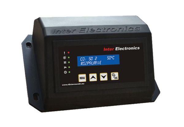 Sterownik regulator palnika na pellet IE76v2 PID fotoczujnik