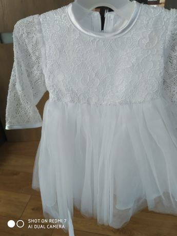 Sukienka do chrztu rozmiar 62