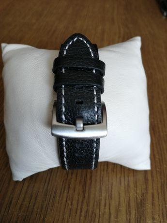 Ремешок кожаный для мужских наручных часов