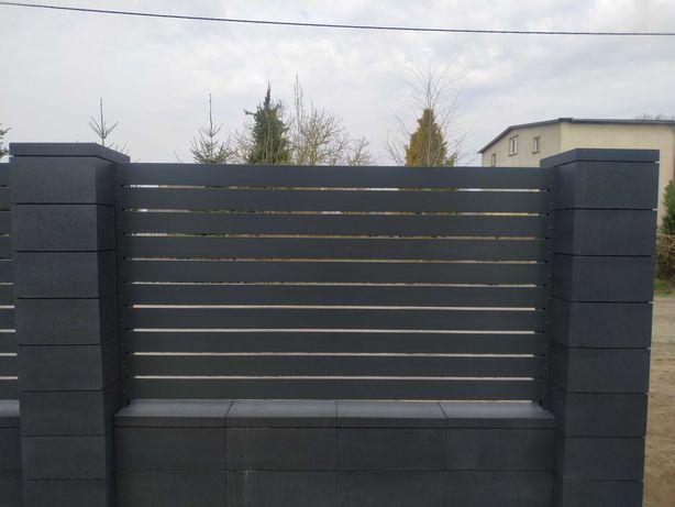 Nowoczesne aluminiowe ogrodzenia, balustrady, bramy, furtki, przęsła