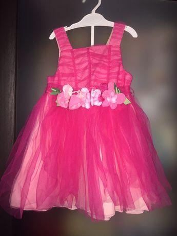 Нарядное новое платье- сарафан р.1.5-2 года