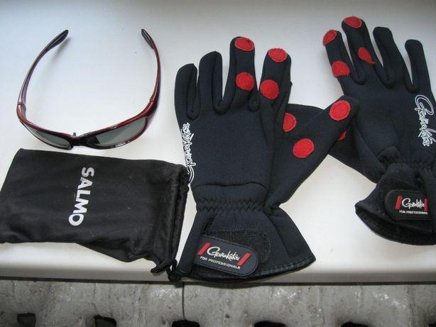 Перчатки и очки для рыбалки