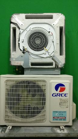 Кондиционер инвертор кассетний Gree GKH12K3HI/GUHN12NK3HO БУ до 40 м2