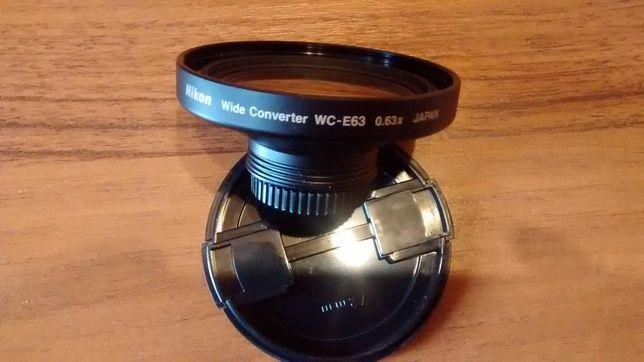 nikon konwerter szerokokątny WC-63 0,63x Coolpix