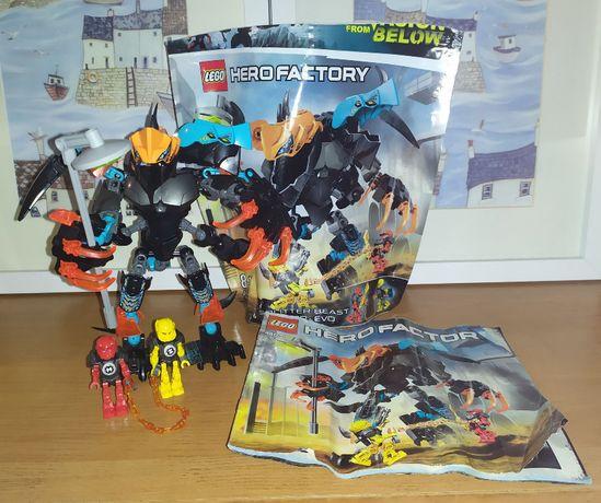 Zestaw Lego Hero Factory Splitter Beast vs. Furno and Evo 44021