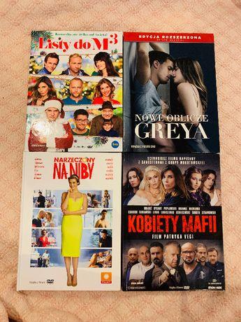 Filmy Kobiety Mafii,Listy do M3,Nowe oblicze Greya, Narzeczony na niby