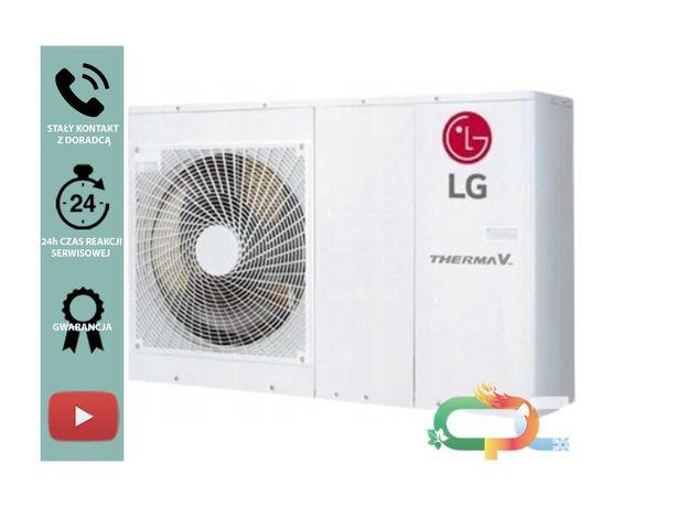 LG Pompa Ciepła 5kW MONOBLOK wraz z kompleksowym montażem w cenie