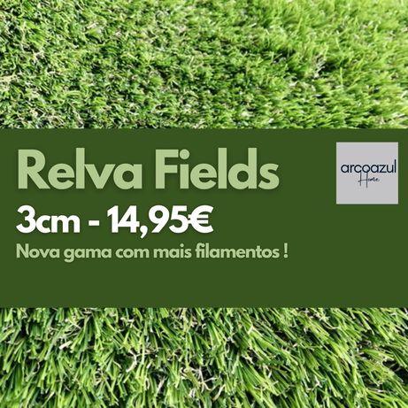 Novidade: Relva Fields - 3cm - 14,95€ m2 By Arcoazul