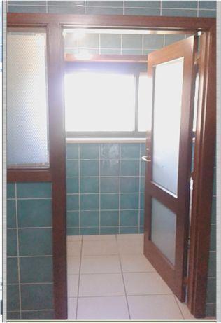 Porta interior e janela