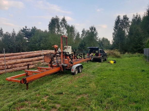 Trak tasmmowy lt 40 wood mizer