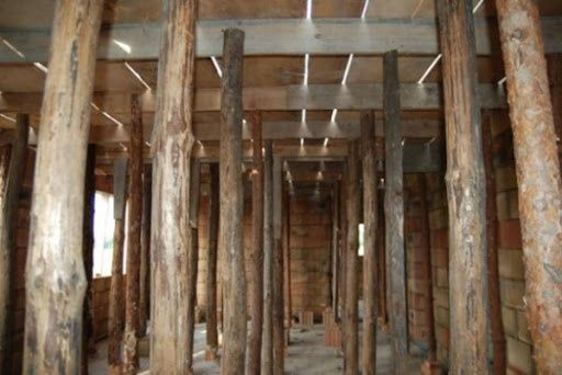 Stemple budowlane drewniane 3 metrowe
