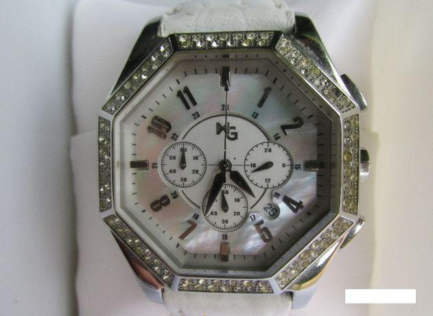 Relógio de pulso MG Quartzo Miyota calibre 0S20 cronógrafo, 5 ATM