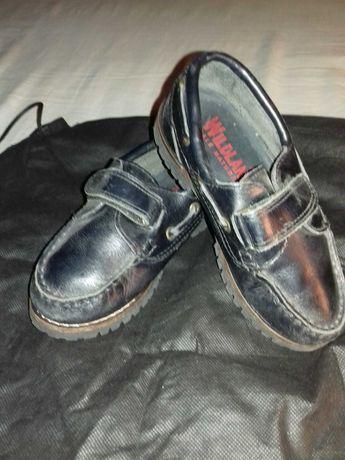 Sapato em pele de criança n°28
