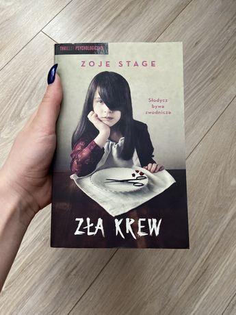 Książka Zła krew Zoje Stage