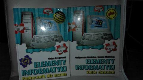 Elementy informatyki Podręcznik i zbiór ćwiczeń