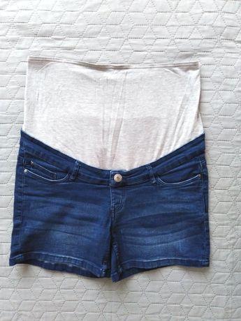 jeansy ciążowe, spodnie ciążowe krótkie