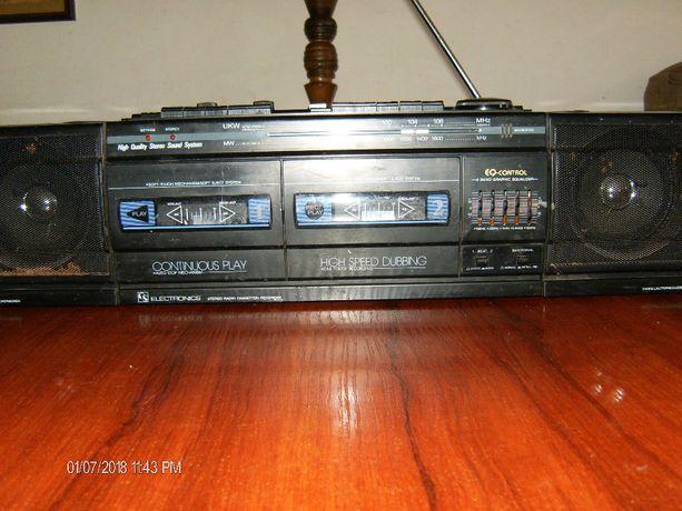 Radiomagnetofon na kasety