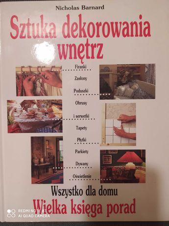 Książka o dekoracji wnętrz
