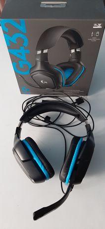 Słuchawki z mikrofonem Logitech G432 7.1