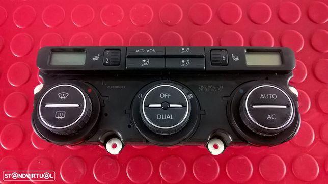 Botão Sofagem / Climatronic - 1Q0907044AE [VW EOS]