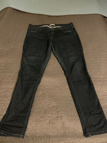 Jeasny spodnie Camaieu rozmiar 46 ciemny granat