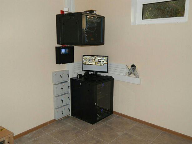 Монтаж систем безопасности и электрики под ключ