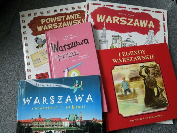 Warszawa przewodniki dla dzieci, powstanie warszawskie, legendy