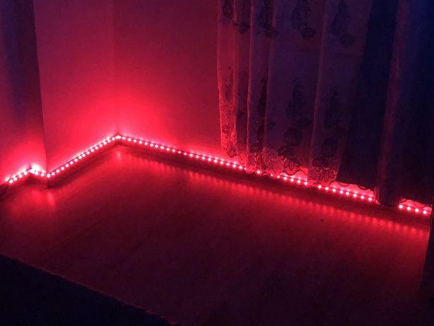 Светодиодная LED подсветка 5м. Пульт. Выбор цвета подсветки пультом.