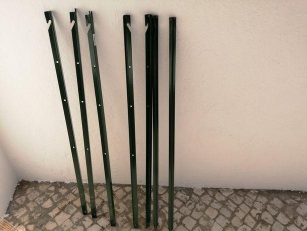 7 ferros para vedacao 2 euros cada