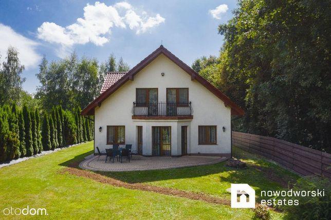 Piękny 190m2 dom na wynajem z ogrodem przy lesie