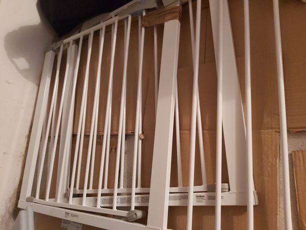 Grades protecção de escadas