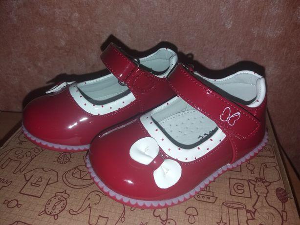 Продам туфли на девочку Clibee 20 р.