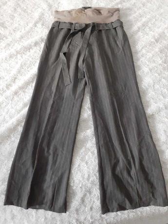 Spodnie ciążowe materiałowe