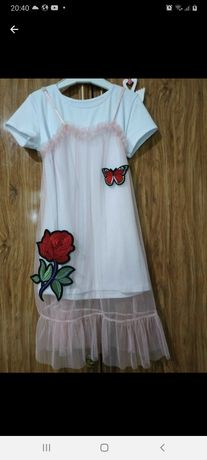 Фатиновое нарядное платье