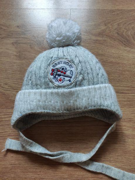 Зимняя теплая шапка, 44-46