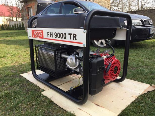 Agregat prądotwórczy FOGO FH9000TR 400V 8,5 kVA - benzyna 45L zbiornik