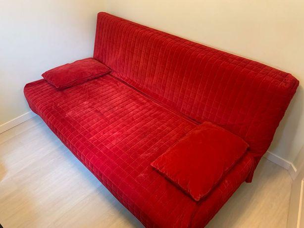 Łóżko rozkładane 140x200 Beddinge Ikea